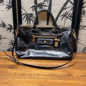 Prada Leather 2 Way Tote Bag